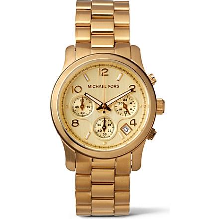 Часы женские michael kors gold